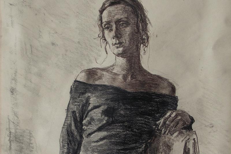 Фёдор Борисович Фёдоров. Portrait of a young woman