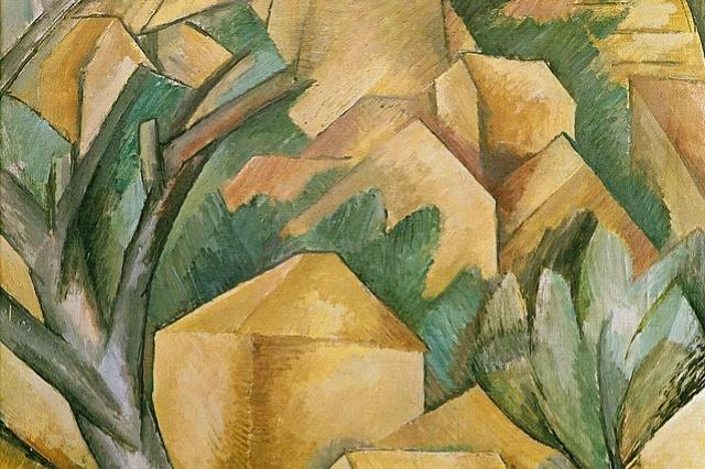 Georges Braque. Houses in l'estaque