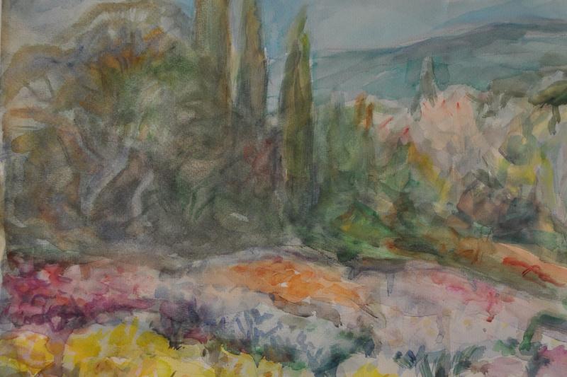 Mikhail Tsezarevich Rabinovich. Flower meadow