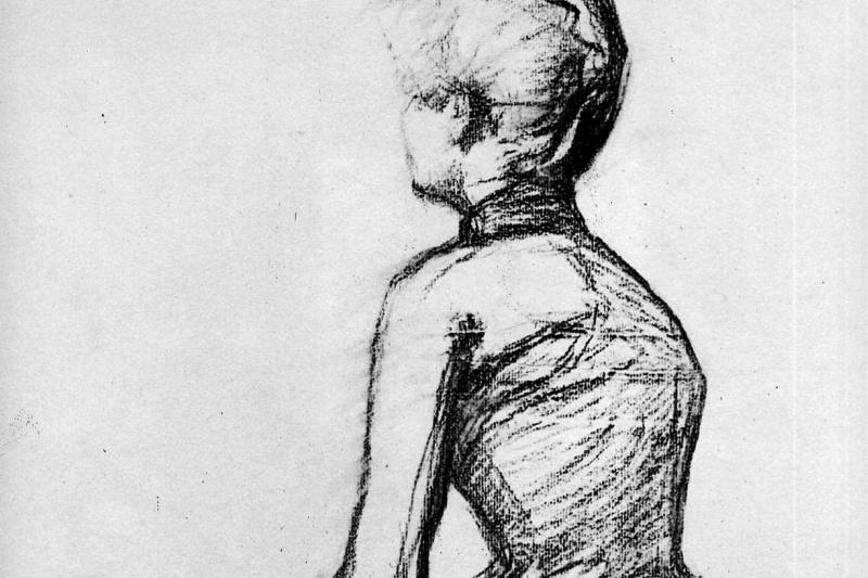 Henri de Toulouse-Lautrec. Sitting woman Sun