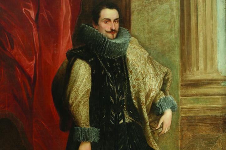 Anthony van Dyck. Genoese nobleman