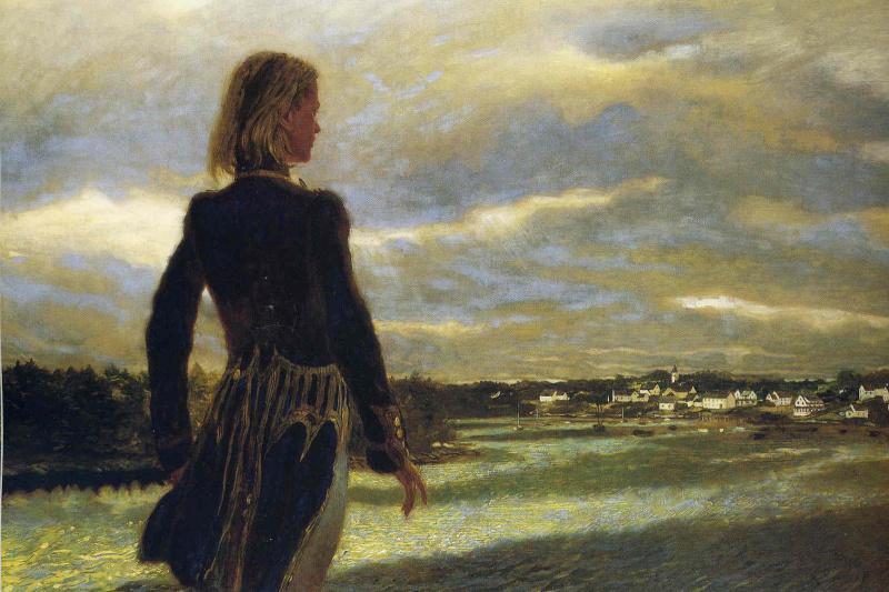 Jamie Wyeth. Wanderer