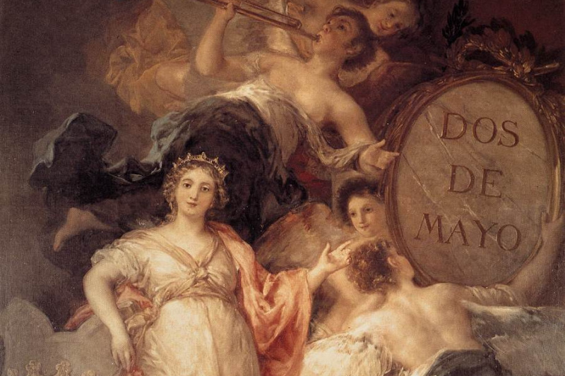 Francisco Goya. Allegory of the city of Madrid