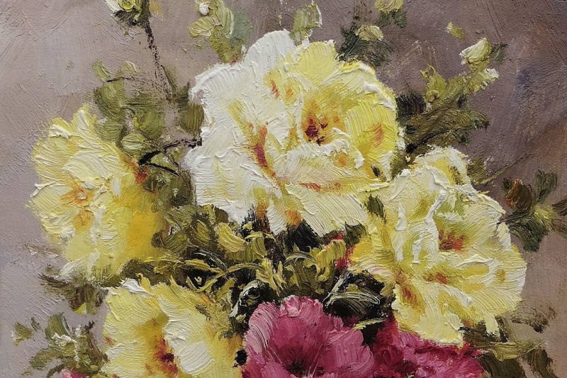Andrzej Vlodarczyk. Bouquet of garden roses