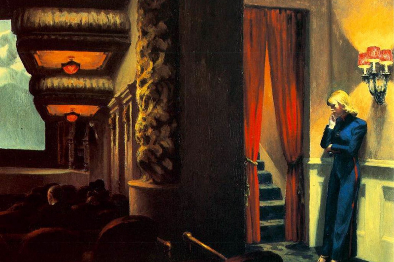 Edward Hopper. New York theater