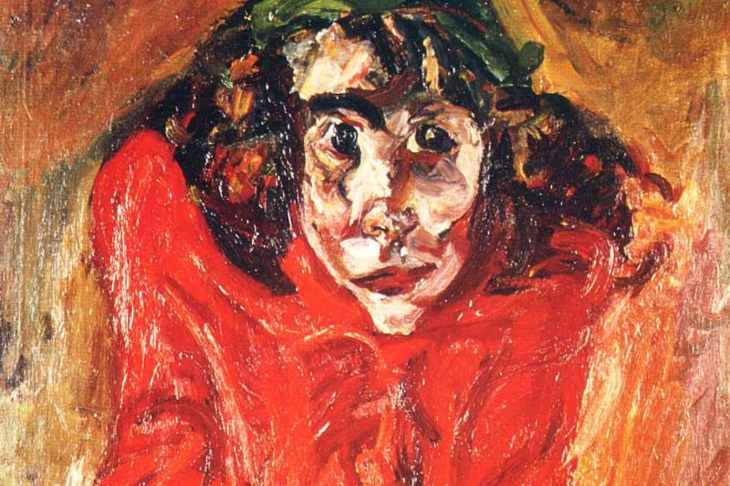 Haim Solomonovich Soutine. Crazy woman