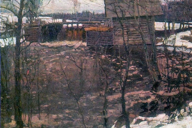 Stanislav Yulianovich Zhukovsky. Mill
