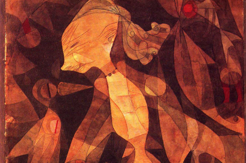 Paul Klee. The adventures of young ladies