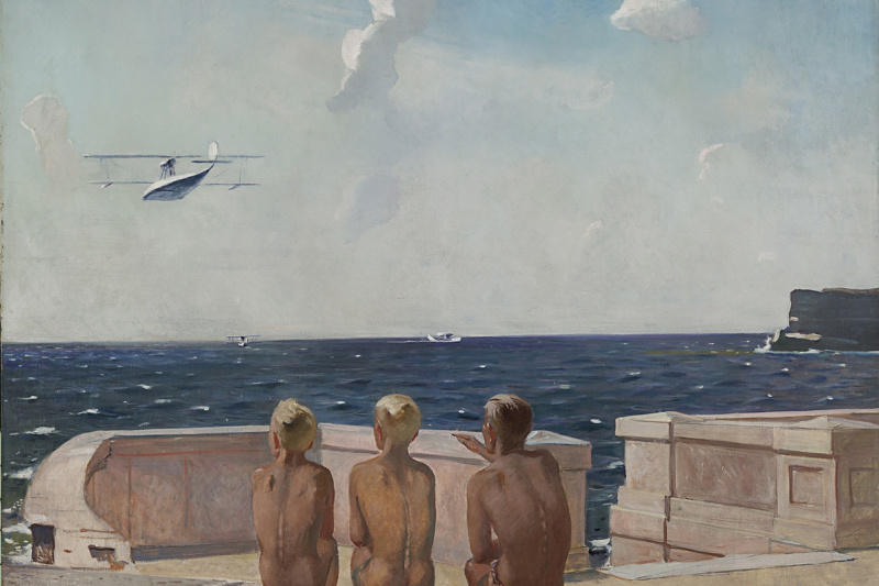 Alexander Alexandrovich Deineka. Future pilots