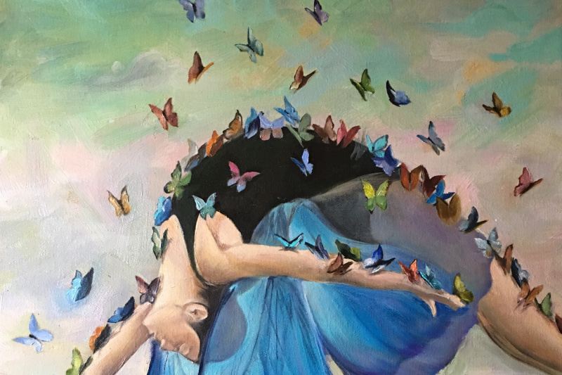 Svetlana Yunusova. Butterfly