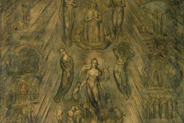 William Blake. Allegory of the spiritual condition of man