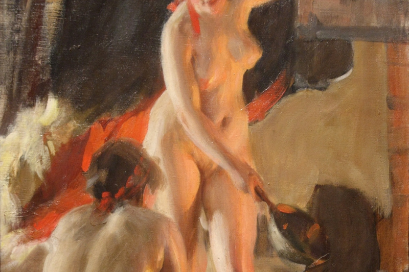Anders Zorn. Galenika girls in the bath