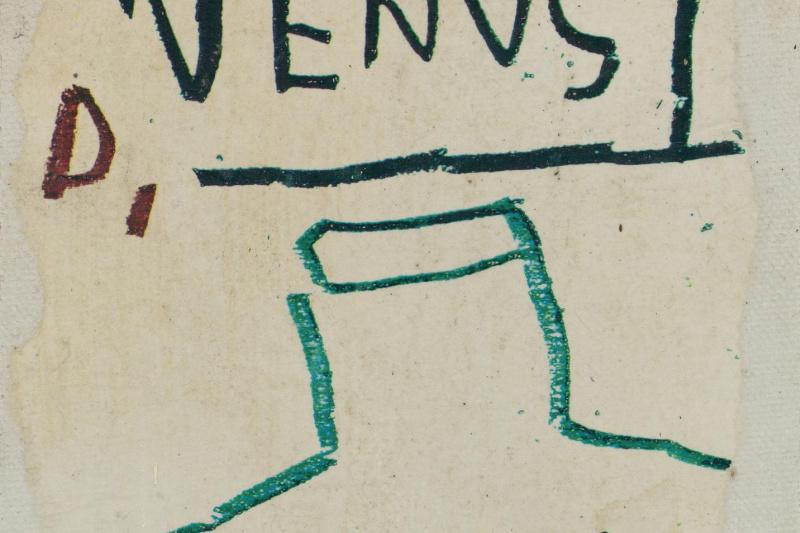 Jean-Michel Basquiat. Untitled (Venus)