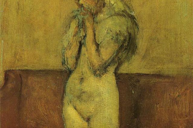 James Abbot McNeill Whistler. Pink and brown: Grasshopper