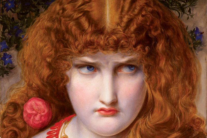 Anthony Frederick Augustus Sandys. Helen Of Troy