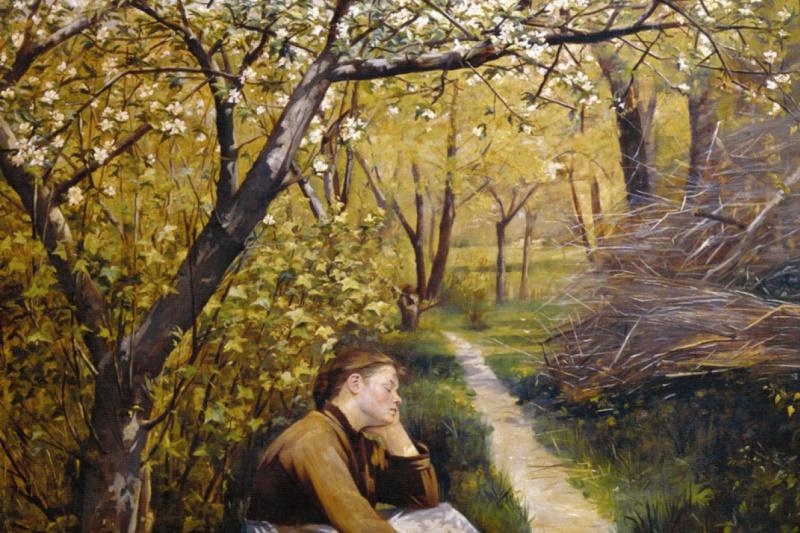 Мария Константиновна Башкирцева. Spring april