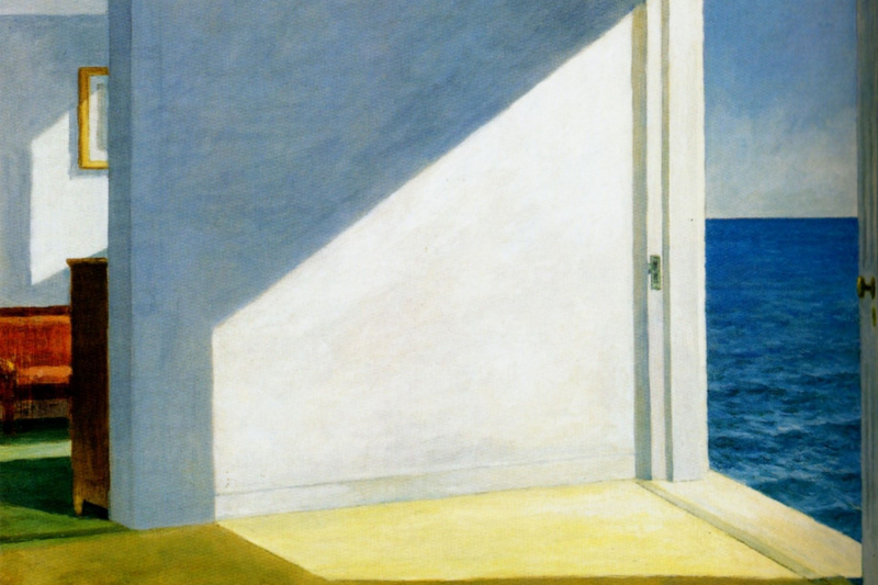 Edward Hopper. Rooms by the sea