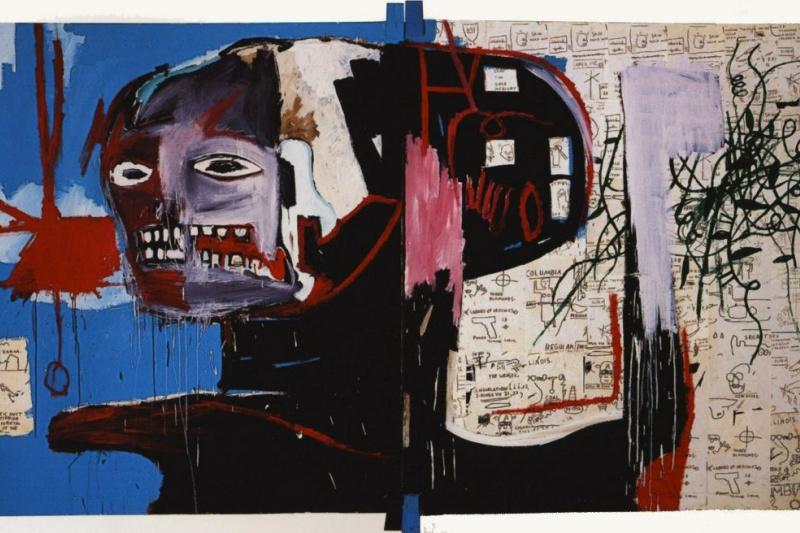 Jean-Michel Basquiat. Dove
