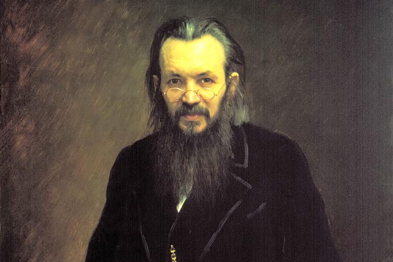 Ivan Nikolayevich Kramskoy. Portrait of a publisher and journalist Alexey Sergeevicha suvorina