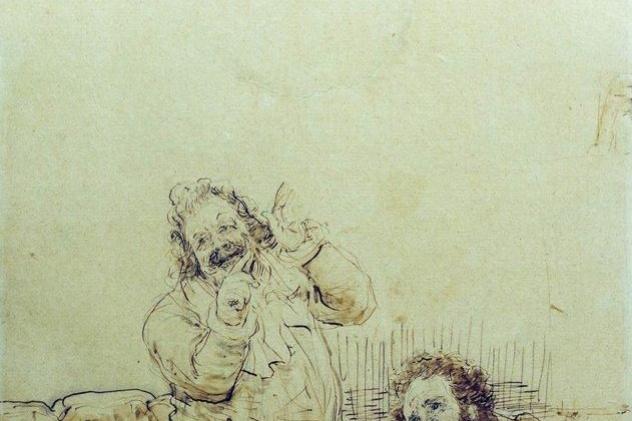 Ilya Efimovich Repin. Pushkin Karl Briullov