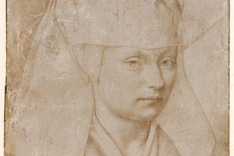 Petrus Christus. Portrait of a Young Woman