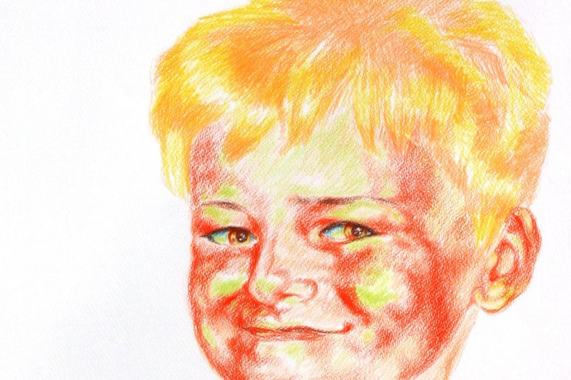 Kandinsky-DAE. .Sunny Boy. (Son of the artist Sasha)