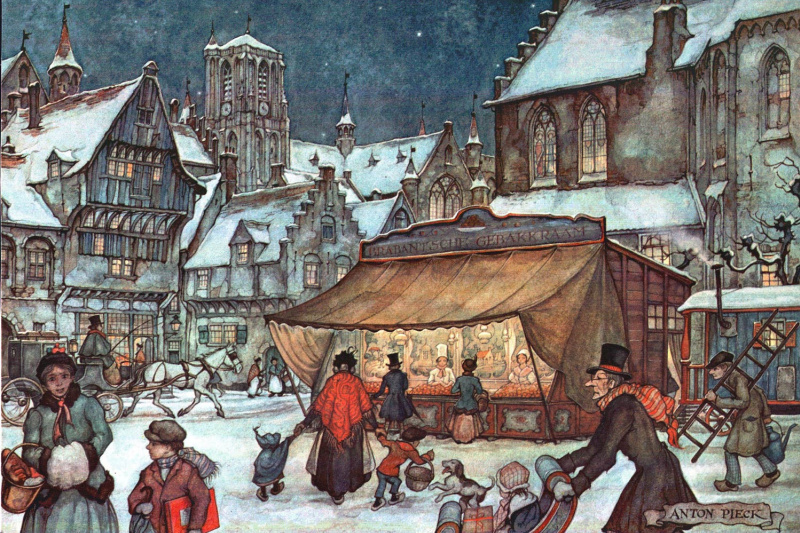 Anton Peak. City scenes. Winter area