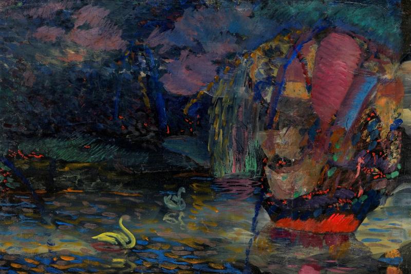 Vladimir Davidovich Baranov-Rossine. Fairy lake