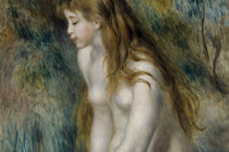 Pierre-Auguste Renoir. Young bather