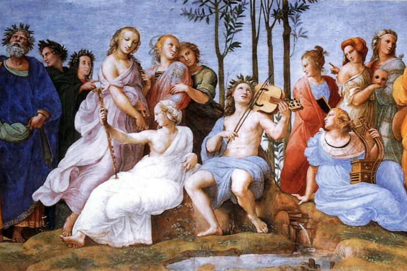 Raphael Sanzio. Parnassus
