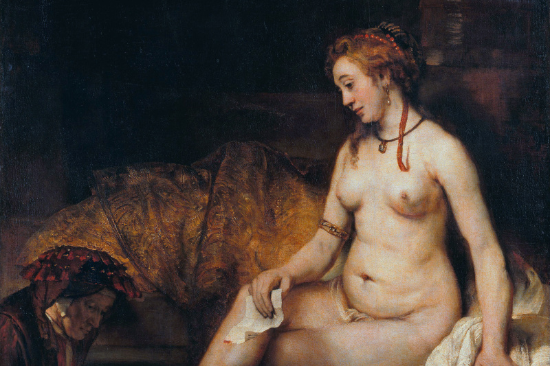 Rembrandt Harmenszoon van Rijn. Bathsheba with King David's letter