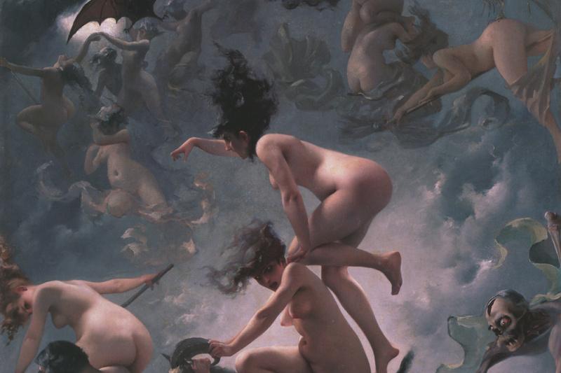 Luis Ricardo Phalero. Witches in transit on the Sabbath