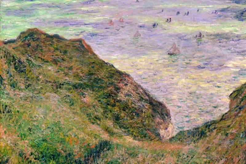 Клод Моне. Вид на море