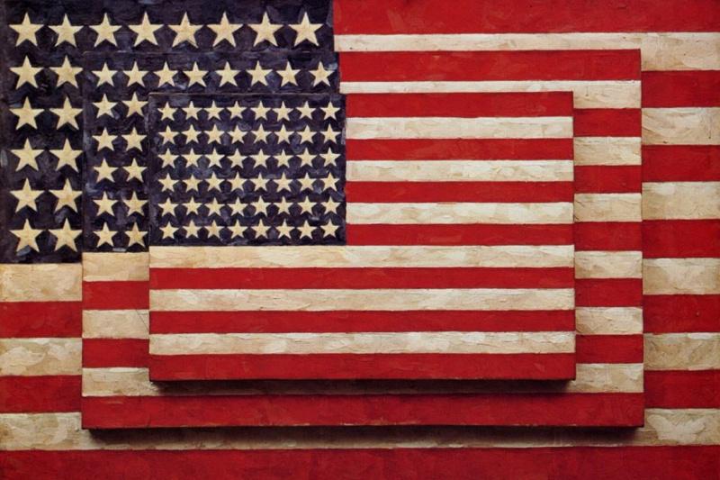 Jasper Jones. Three flags