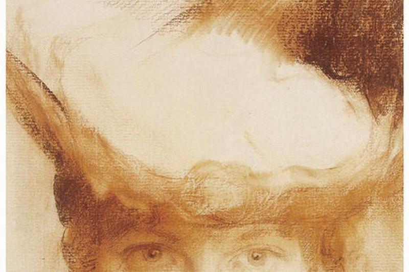 Claude Monet. Portrait of a girl