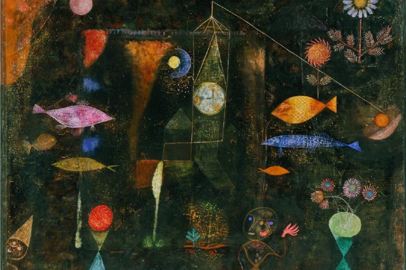Paul Klee. Magic fish