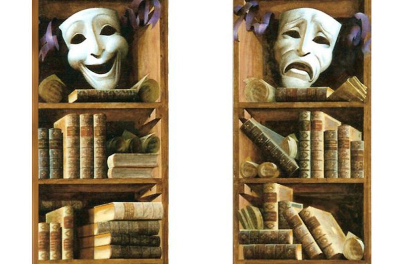 Sergey Konstantinov. Bookshelves