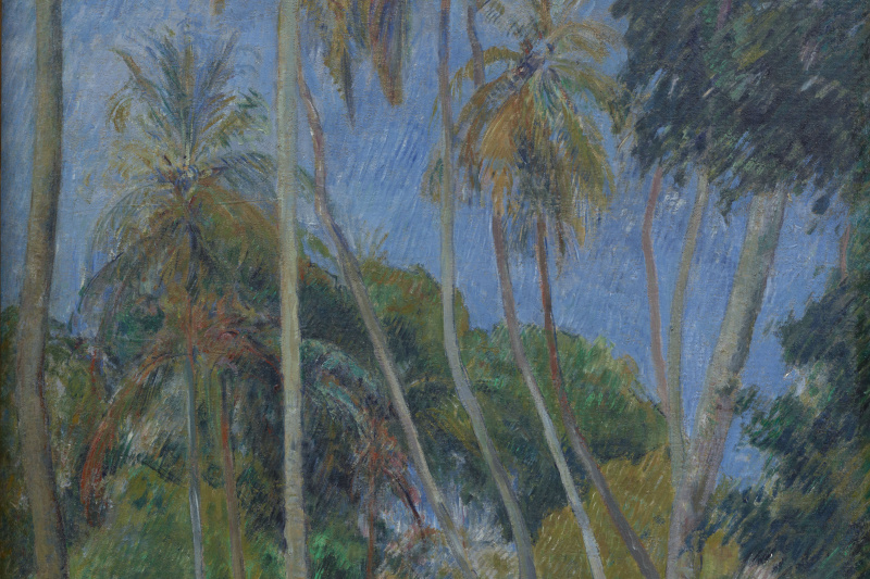 Paul Gauguin. Path under the Palms
