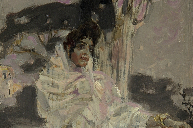 Mikhail Vrubel. Spanish woman in white
