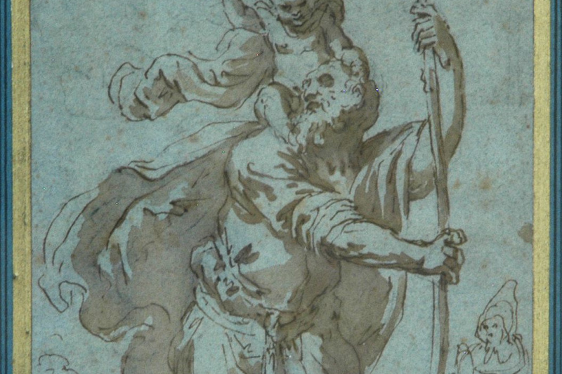 Guido Reni. St. Christopher challenge stream