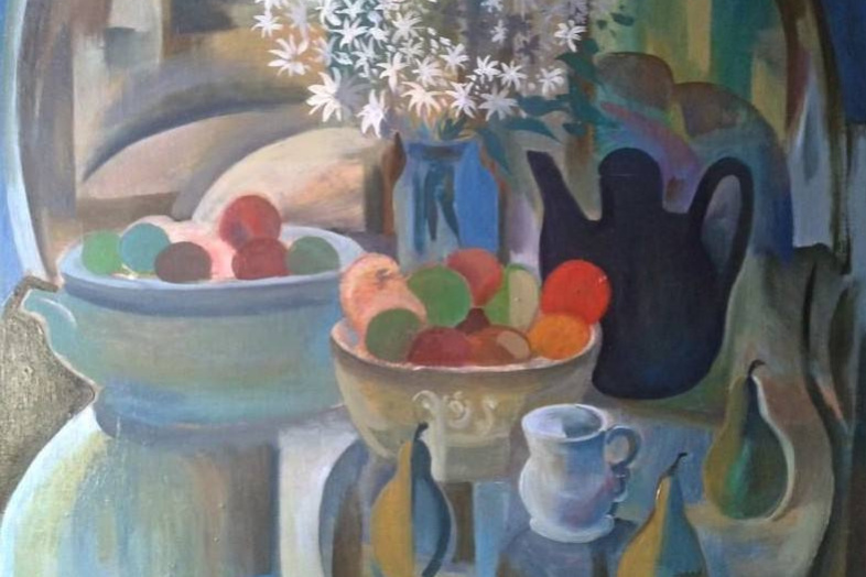 Igor Ernestovich Kotkov. Still life with apples