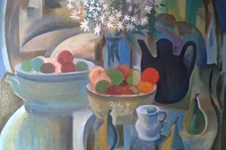 Igor Ernestovich Kotkov. Still life with apples