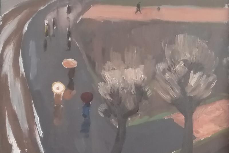 Anatoly Alekseevich Bolkhontsev. Rain
