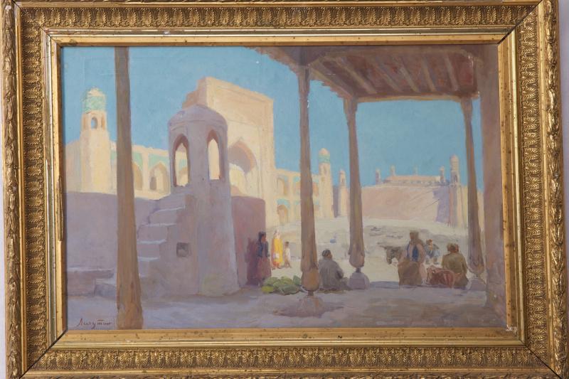 Sergey Yakovlevich Lagutin. The Morning Of Khiva