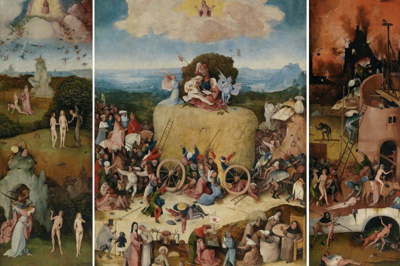 Hieronymus Bosch. The hay