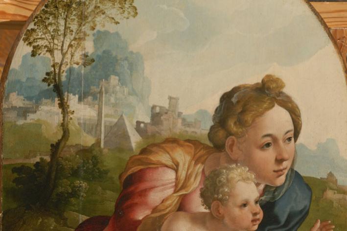 Jan van Skorel. Madonna and Child