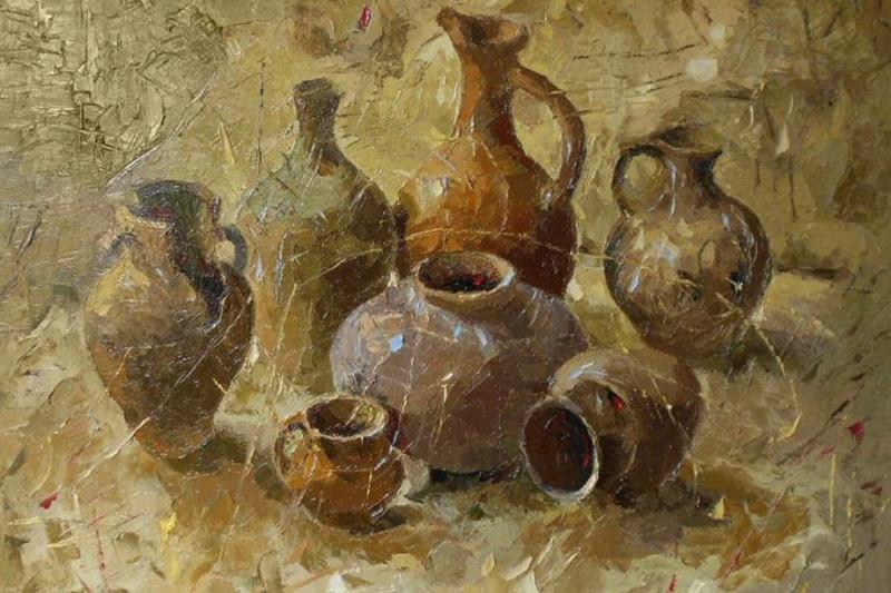 Ara Ghevondian. Vintage jugs