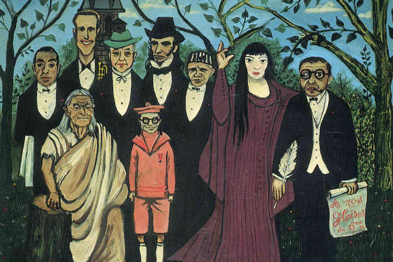 Henri Rousseau. Family