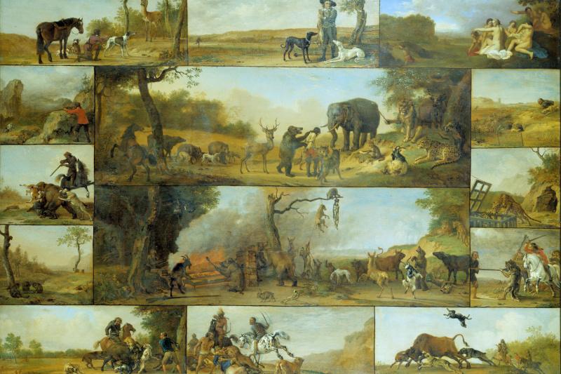 Paulus Potter. Punishment of a hunter