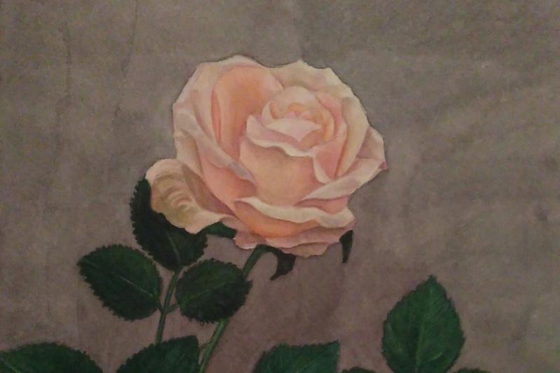 Lyudmila Kachur. Rose flower